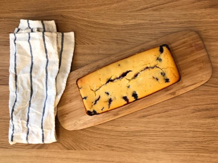 Bizcocho de limón, queso y arándanos (97)