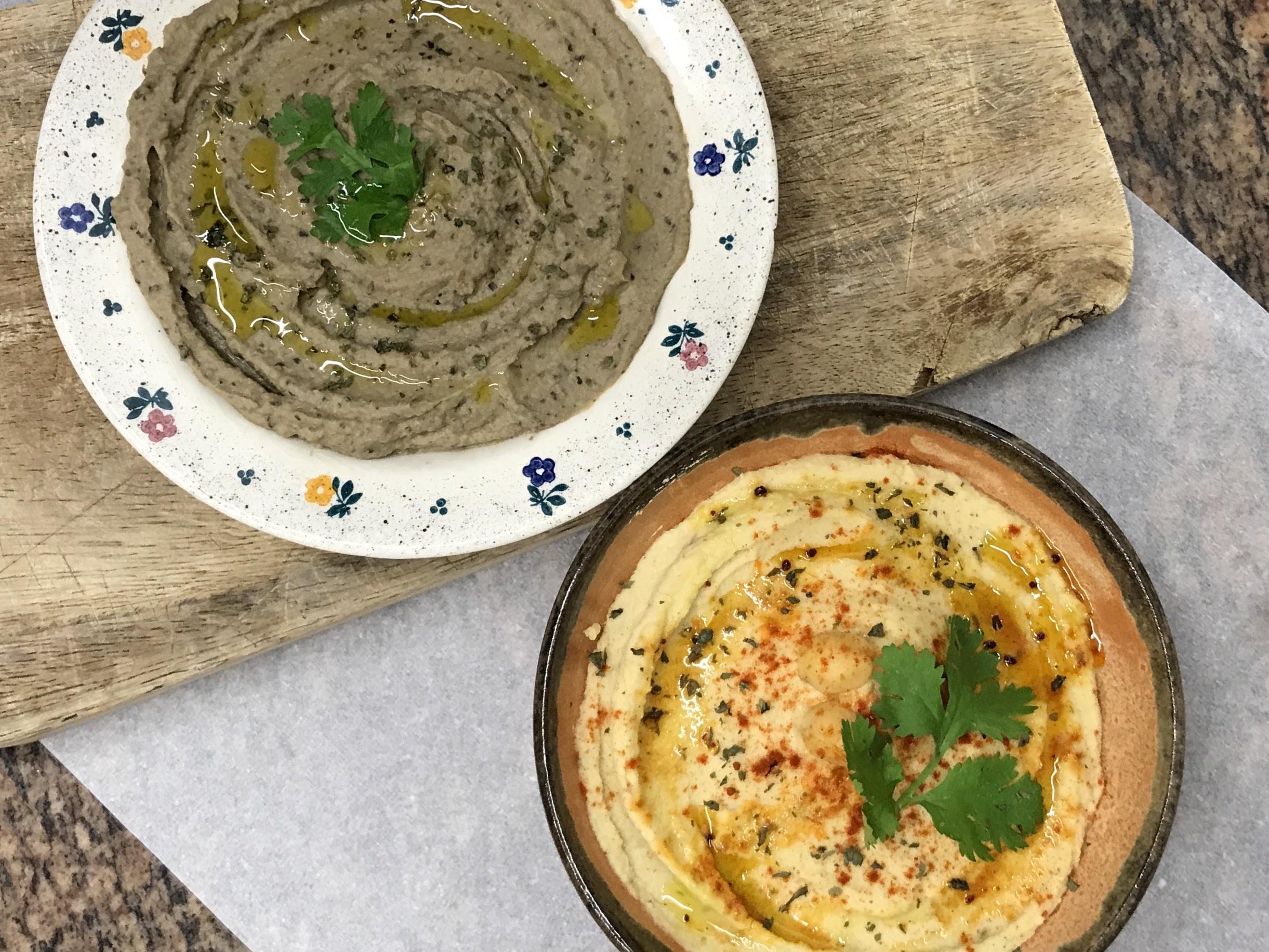Hummus y baba ganoush (108)